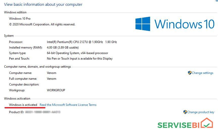 Windows ვინდოუსის გადაყენება გამოძახებით