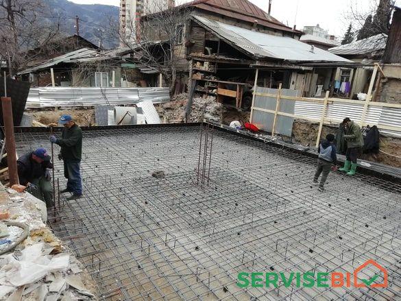 სამშენებლო სამუშაოების შესრულება