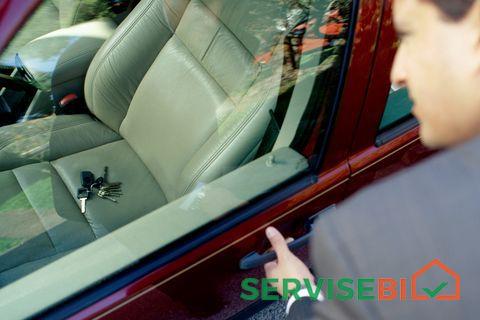 ჩაკეტილი მანქანის გაღების სერვისი
