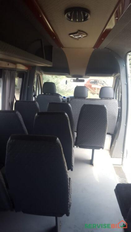 მიკრო ავტობუსის დაქირავება მძღოლით