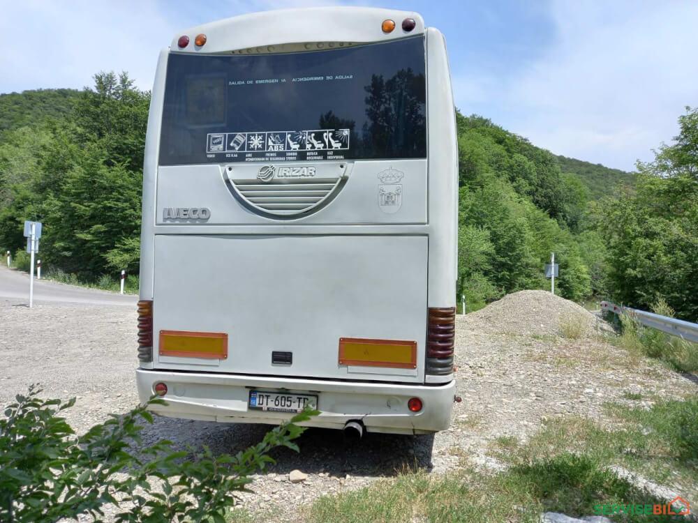 ქირავდება ავტობუსი მძოლით 55+1