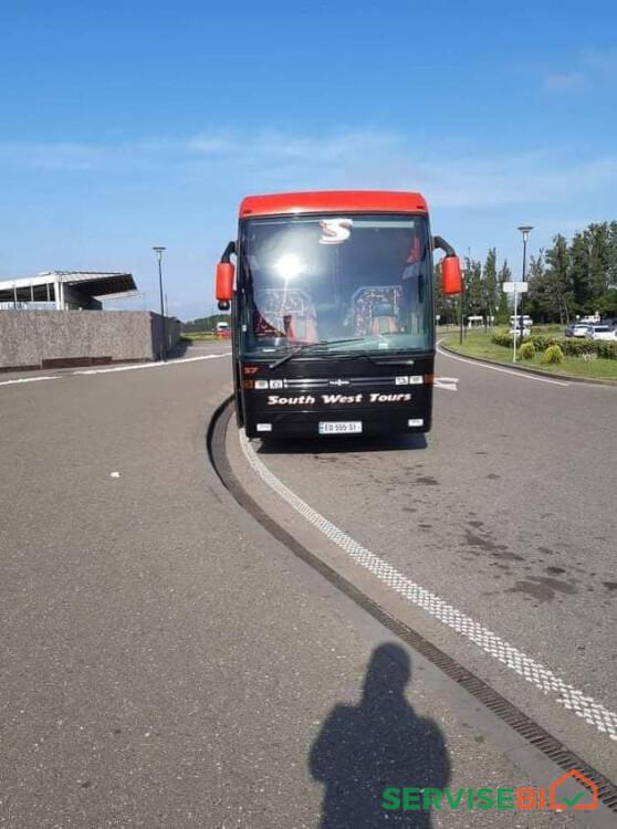 ქირავდება ავტობუსი მძღოლით