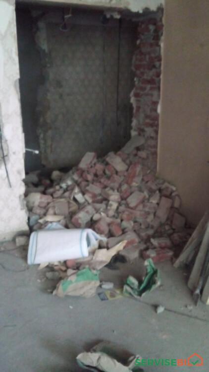 სახლების, კედლების ნგრევა-დემონტაჟი