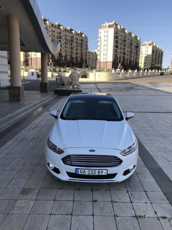 ქირავდება დღიურად Ford Fusion 2014