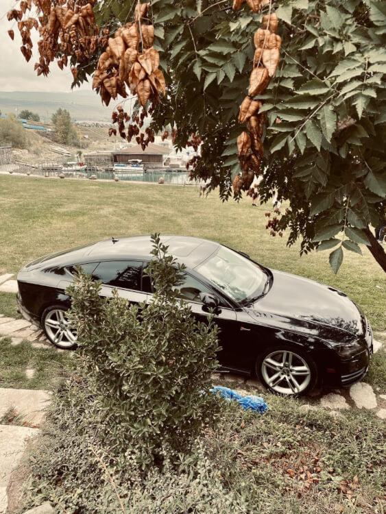 კერძო ავტომობილის დაქირავება (აუდი ა7)
