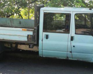 ford transit ტვირთის გადატანა სამშენებლო ნარჩენების გატანა დასუფთავება