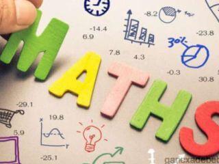 მათემატიკის რეპეტიტორი სკოლის მოსწავლეებისთვის.