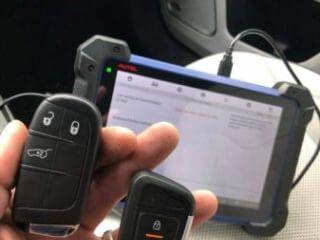 ავტომობილის გასაღების პროგრამირება