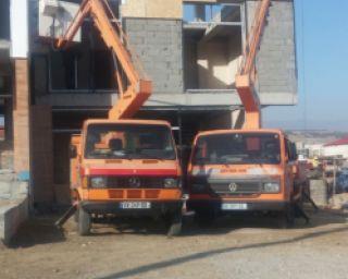 ქირავდება ამწე კალათები მაღლივი სამუშაოების შესასრულელბლად , გვყაავს 12-15-17 მეტრიანი მანქანები