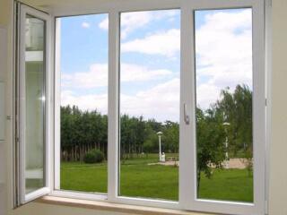 Მეტალო პლასტმასის და ალუმინის კარ ფანჯარა