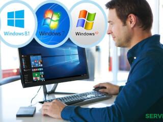 WINDOWS (XP,7,8,10) ვინდოუსის გადაყენება  ბათუმში