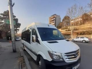 მიკროავტობუსით მომსახურება Mercedes Sprinter 2018