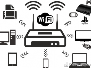 WI-FI მონტაჟი, ინტერნეტის კაბელის დაჯეკვა და როზეტში შეერთებ