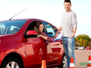აქცია პრაქტიკის გაკვეთილებზე ავტოსკოლა Let's Drive