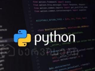 Python პროგრამირების ენა (კურსი)